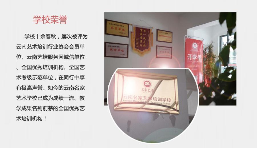 学校荣誉—云南名家文化艺术学校