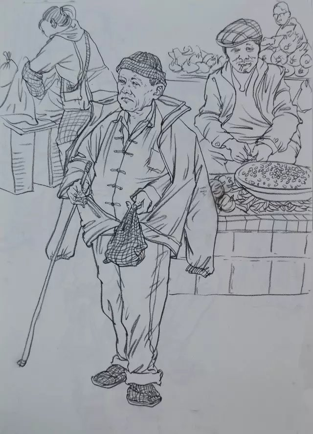 速写作品—云南名家文化艺术