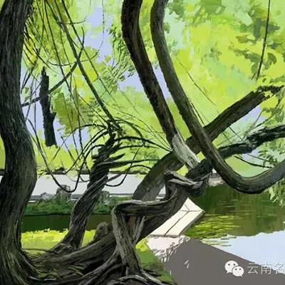油画作品十二——云南名家文化艺术