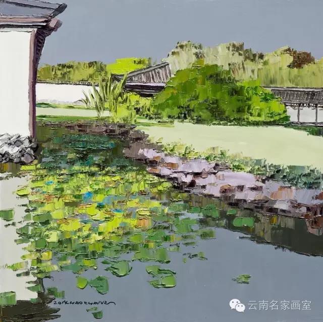 油画作品六——云南名家文化艺术