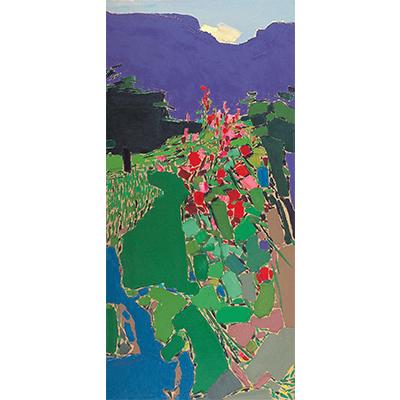0041 2005年作 风景 布面油彩