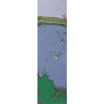 x1238 早春 布面油画